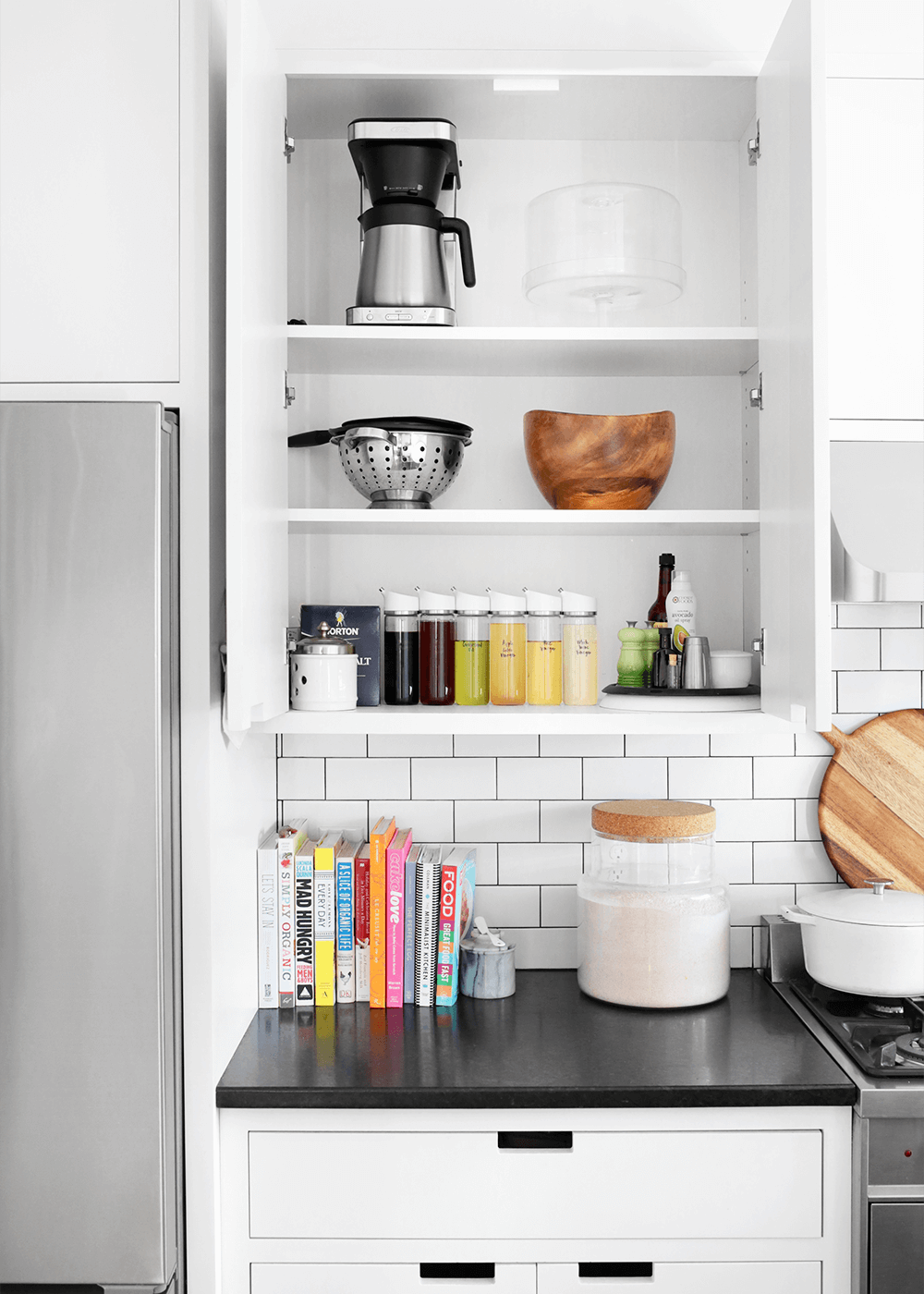 minimal cabinets and drawers from the faux martha