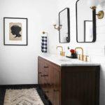 Minimal Masculine Master Bathroom