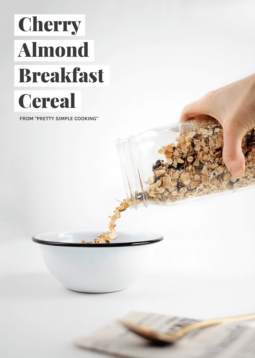 Cherry Almond Breakfast Cereal from The Fauxmartha