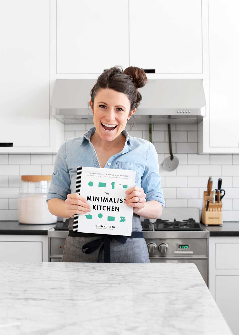The Minimalist Kitchen cookbook from The Fauxmartha