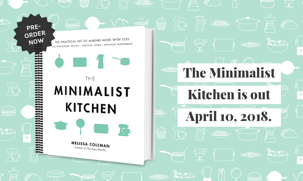 The Minimalist Kitchen - Book