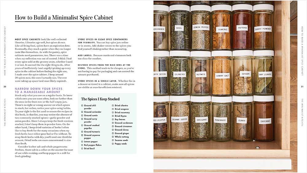 The Minimalist Kitchen Cookbook from Melissa Coleman The Fauxmartha