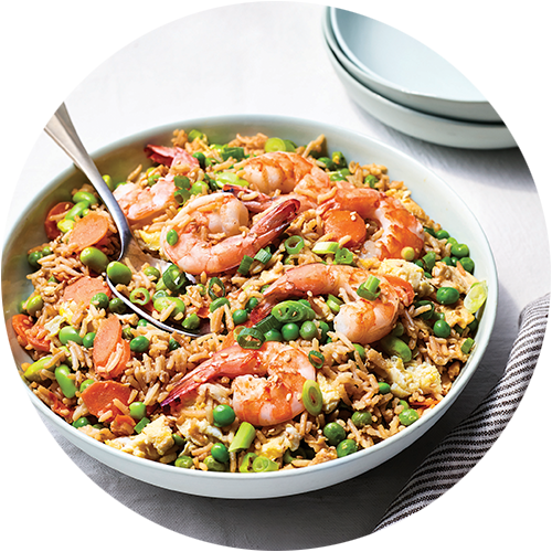 Fried Rice from The Minimalist Kitchen by The Fauxmartha