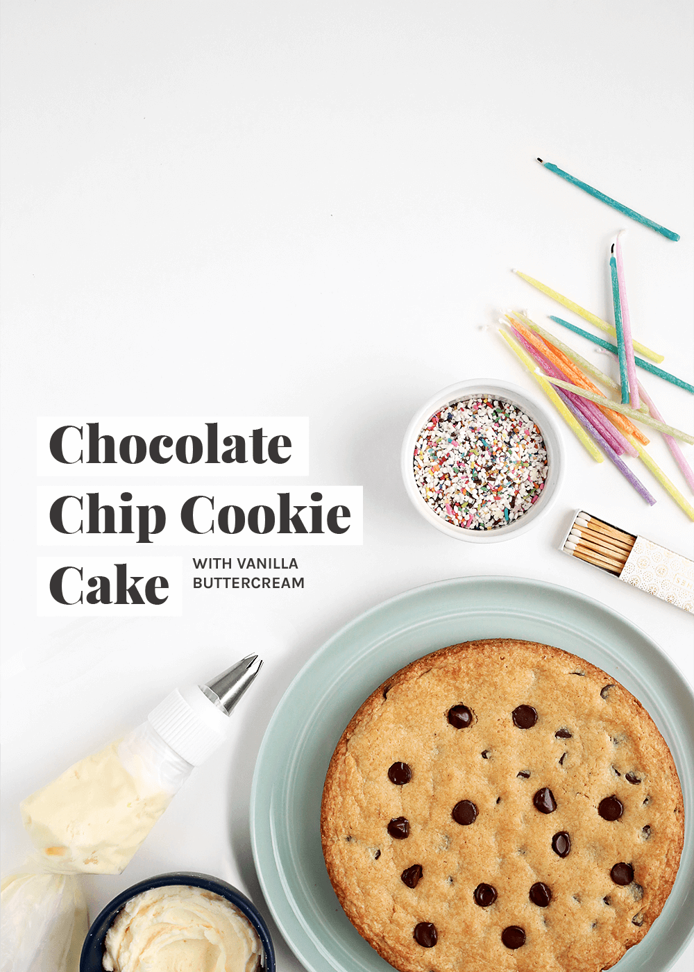 Chocolate Cookie Cake from The Fauxmartha