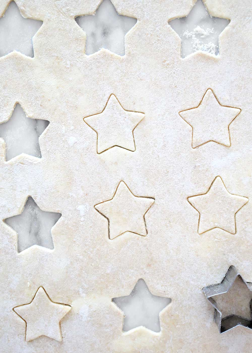Pie Crust with stars from The Fauxmartha