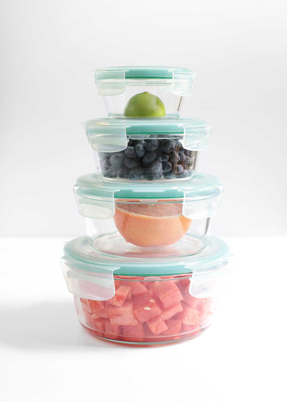 oxo smart seal glass containers