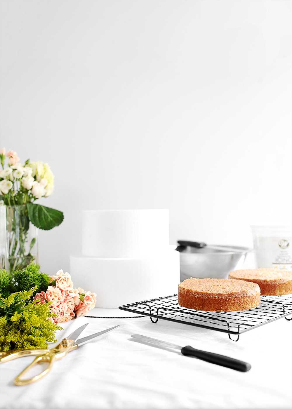 DIY Wedding Cake essentials from The Fauxmartha