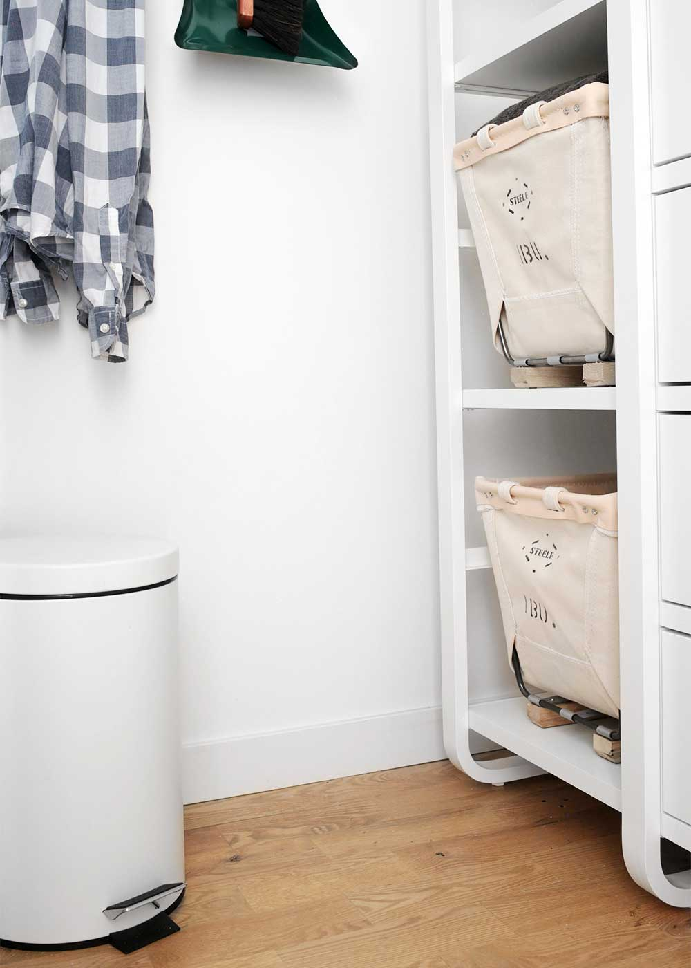 Steele Canvas Laundry Baskets from The Fauxmartha