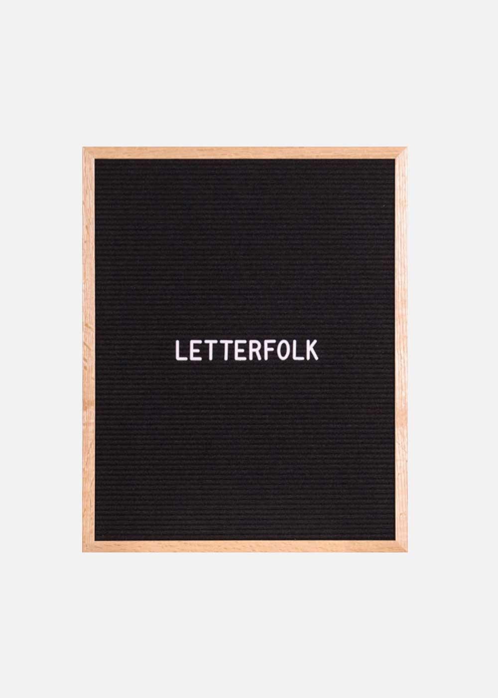 Letterfolk Menu Board