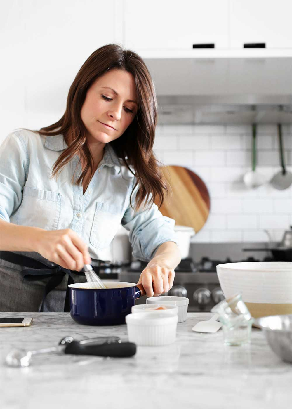 Making cookies with Melissa Coleman of The Faux Martha