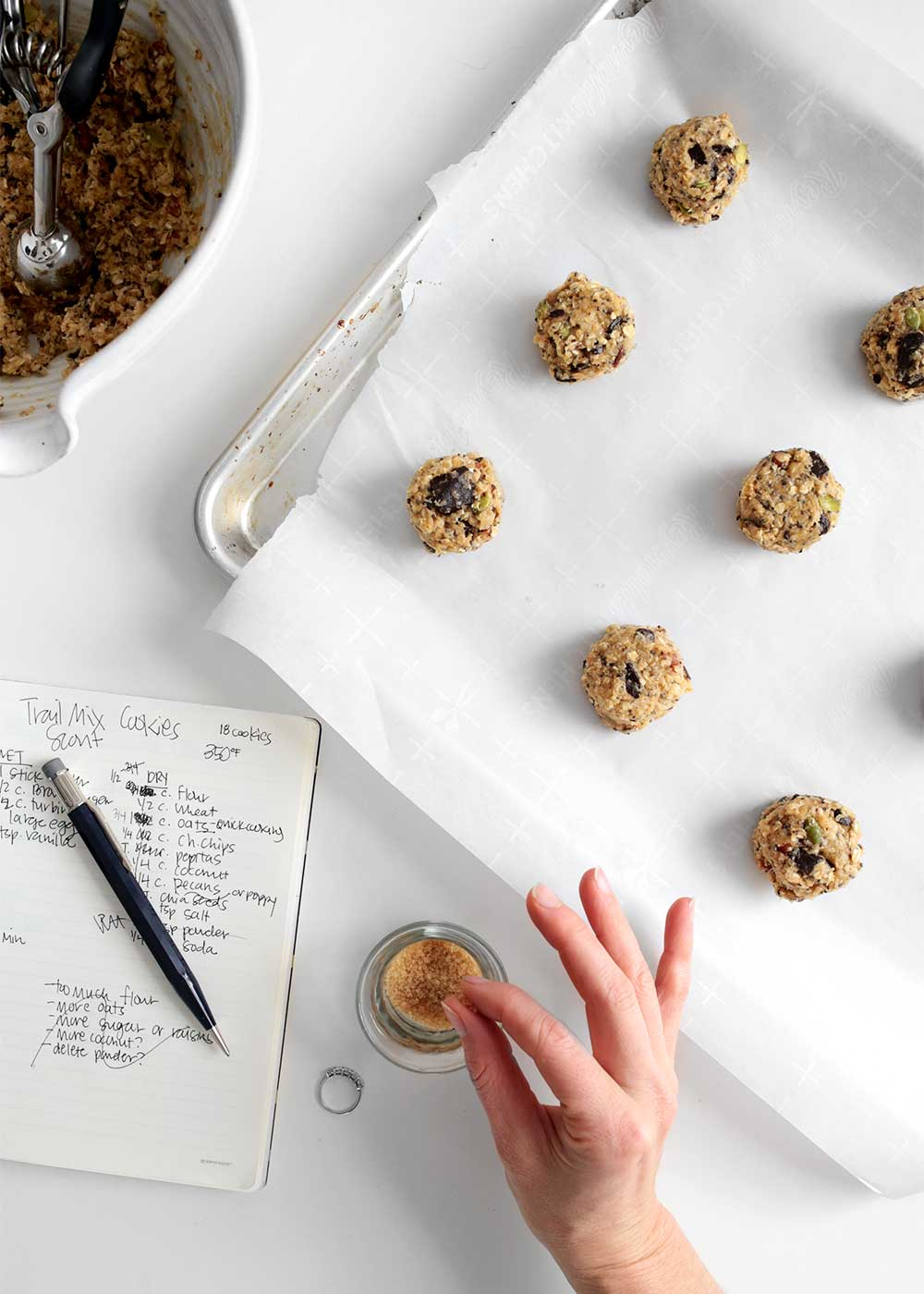 Oatmeal Cookie Dough recipe from The Faux Martha