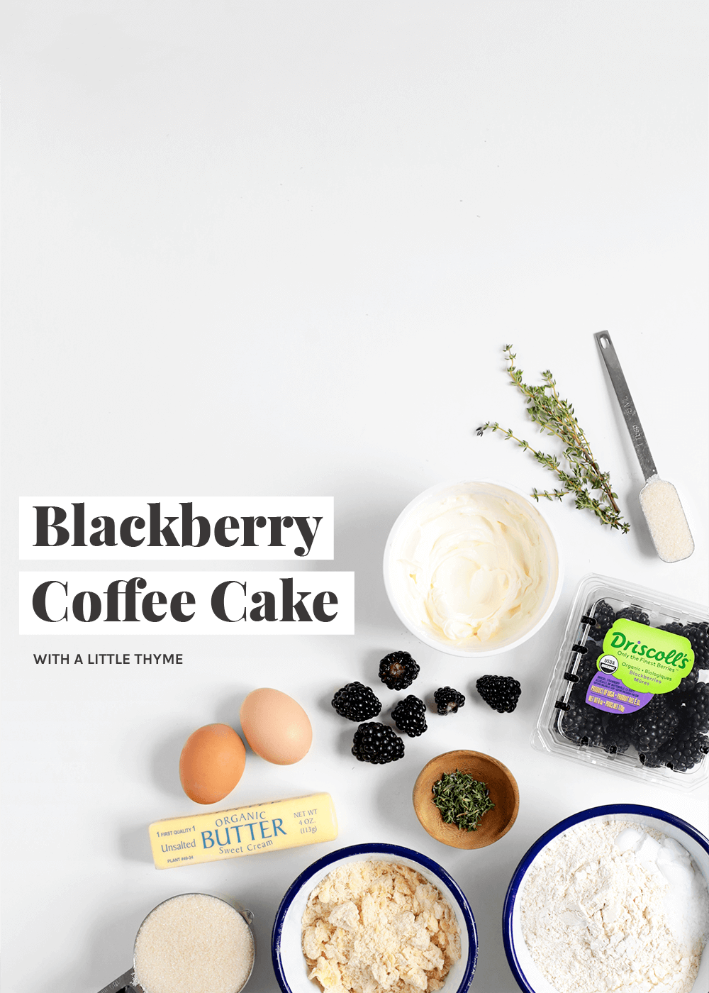 Blackberry Coffee Cake from The Faux Martha