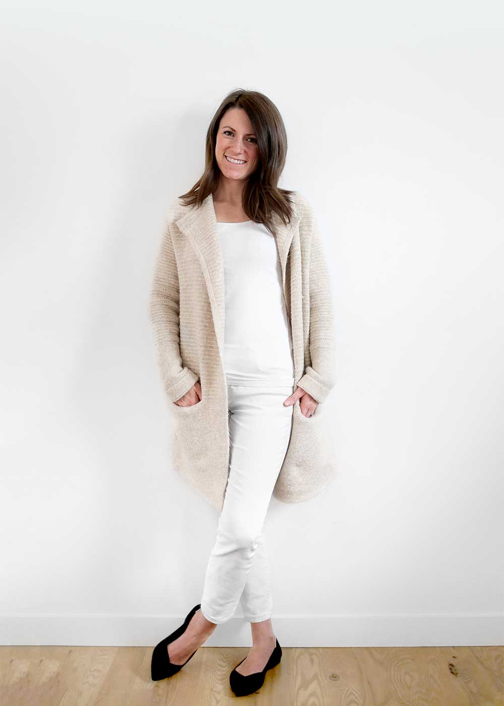 The Faux Martha winter minimalist wardrobe