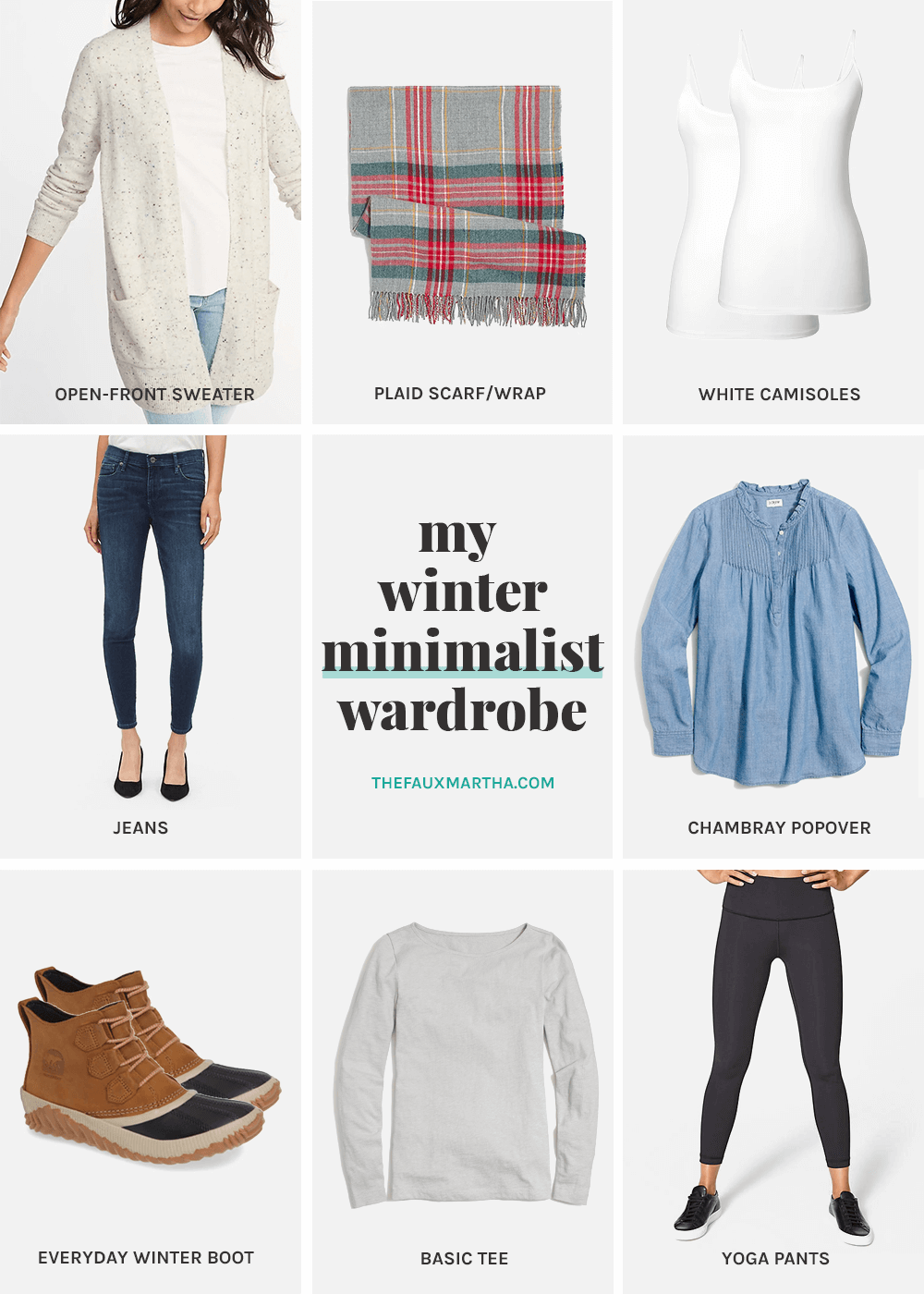 winter minimalist wardrobe