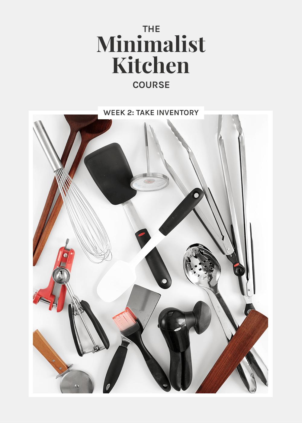The Minimalist Kitchen course Week 2 Take Inventory