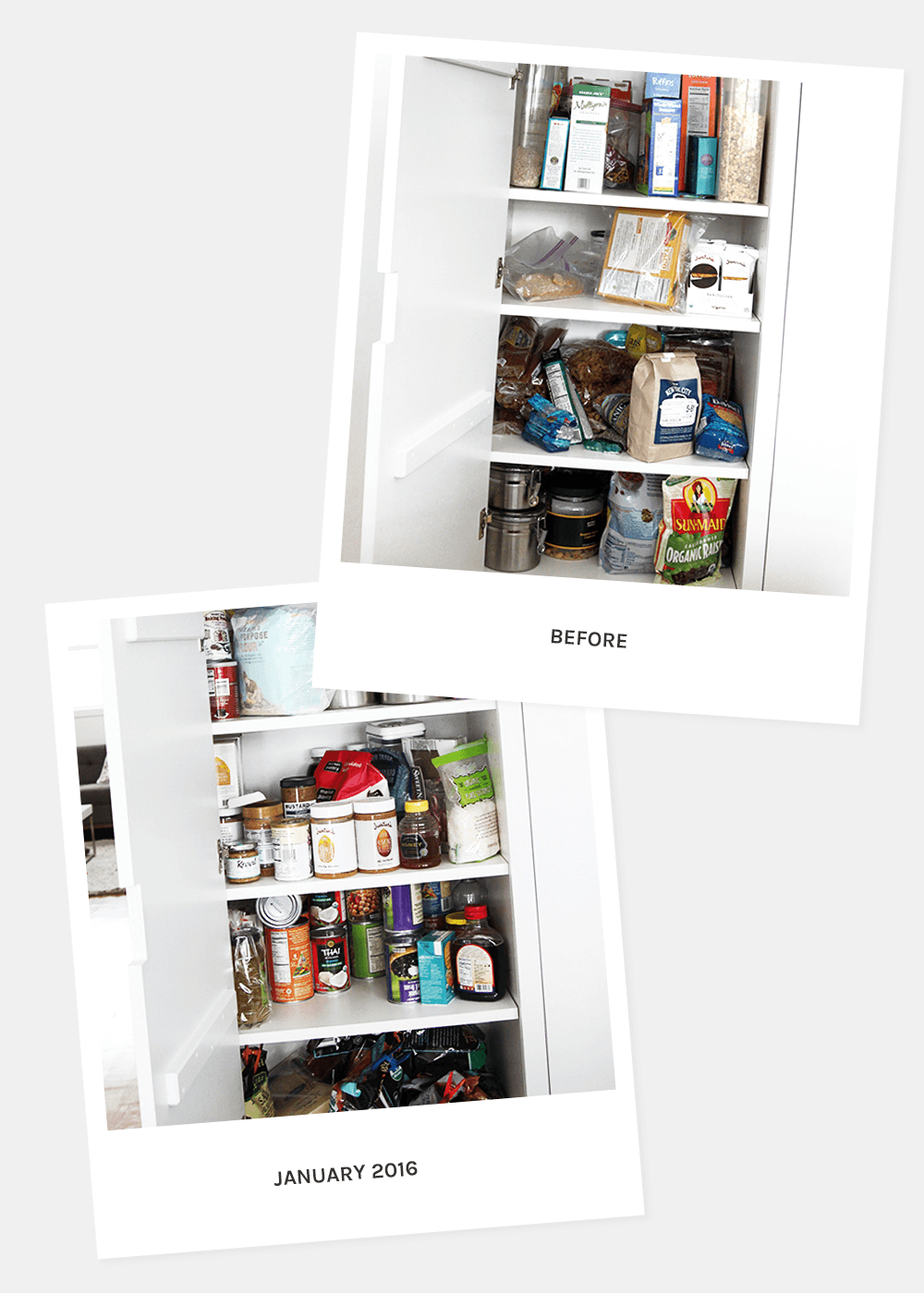 The Faux Martha before pantry