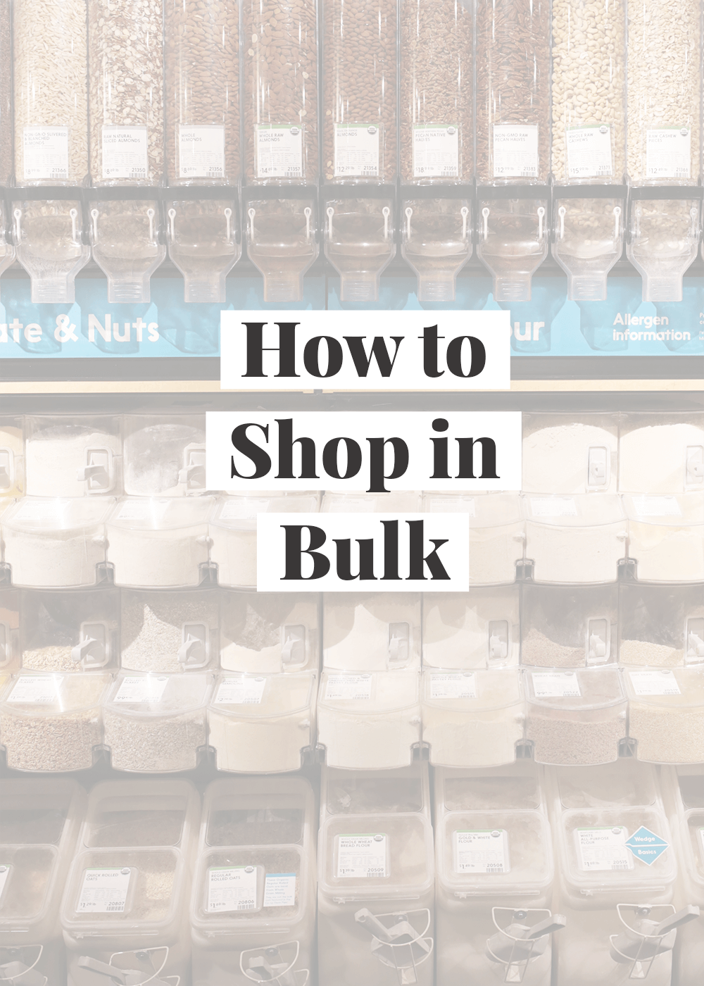 How to Shop in Bulk from The Faux Martha