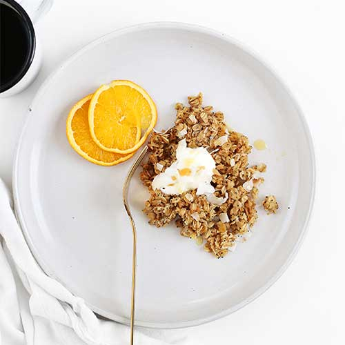 orange poppy seed baked oatmeal