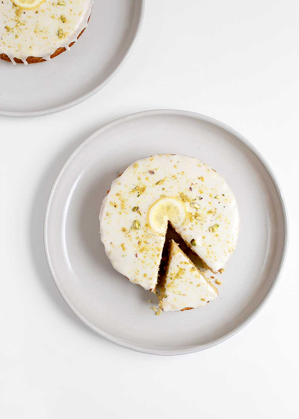 Lemon Olive Oil Pistachio Cake from Love and Lemons Every Day