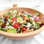 Family Style Chicken Gyro Salad