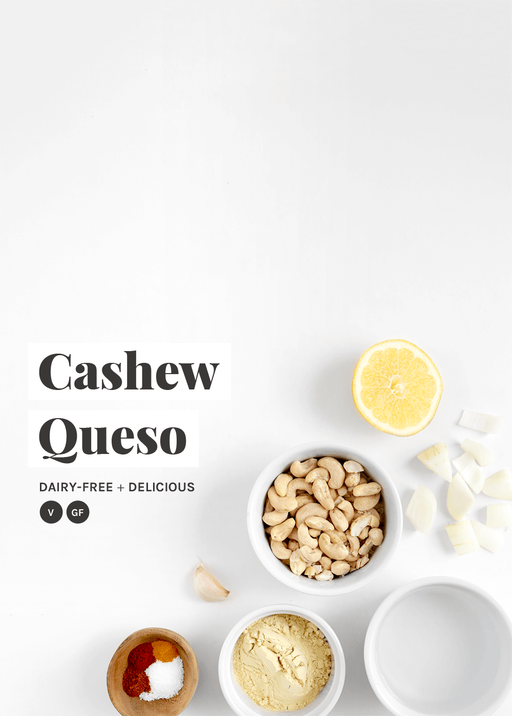 Cashew Queso from the faux martha