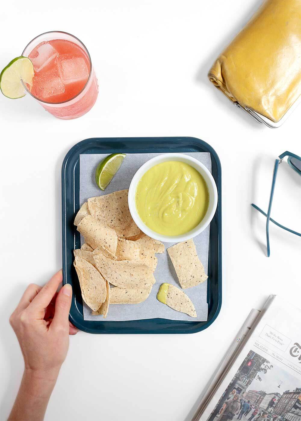 Salsa Doña Tacodeli copycat recipe from The Faux Martha