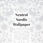 Neutral Nordic Wallpaper