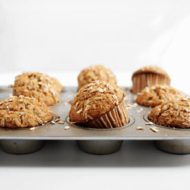 make ahead banana coco carrot muffins from the faux martha