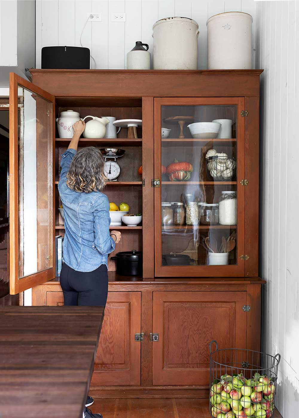 The Grit and Polish Hutch pantry