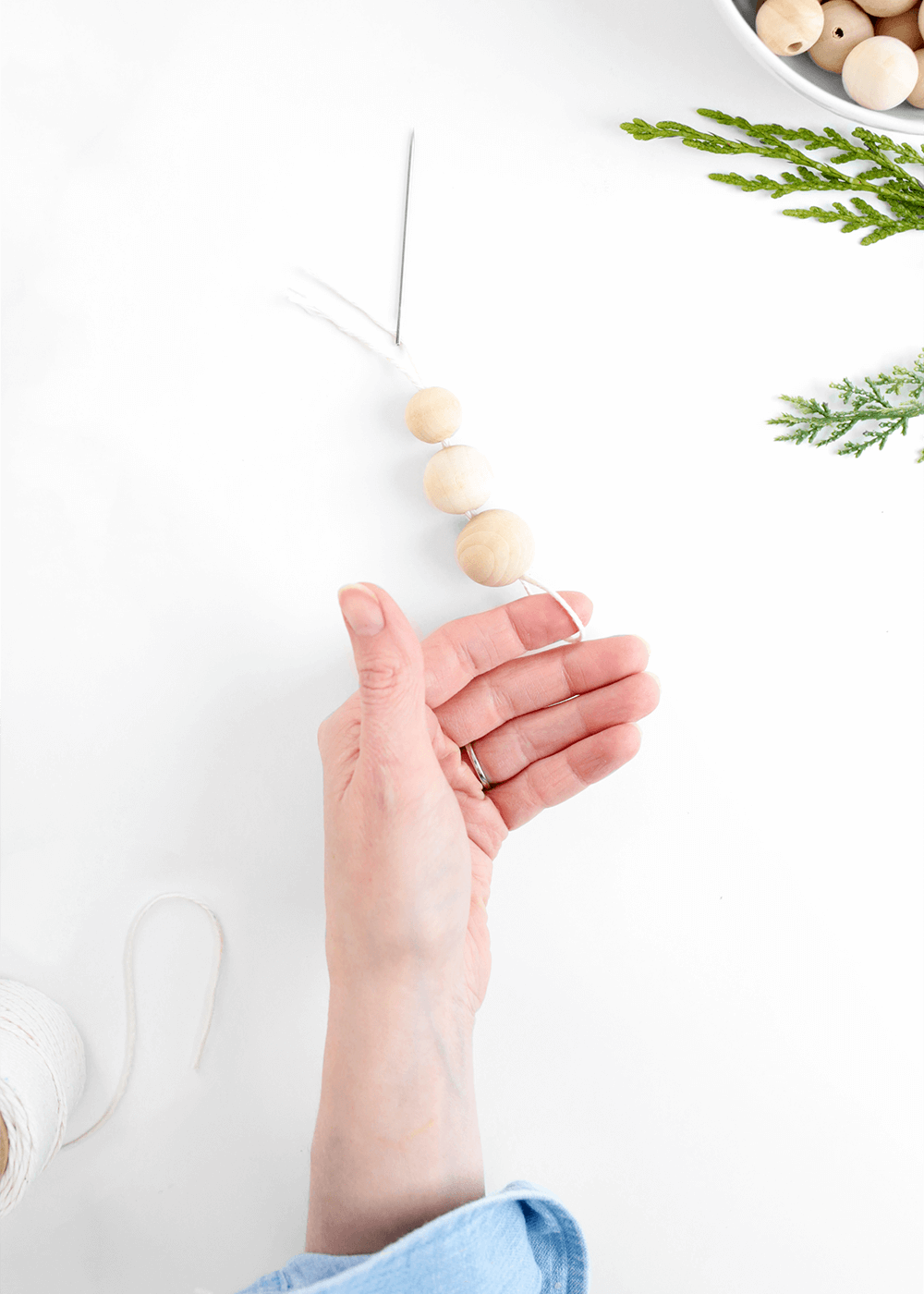 How to make simple Wooden Ornaments from The Faux Martha