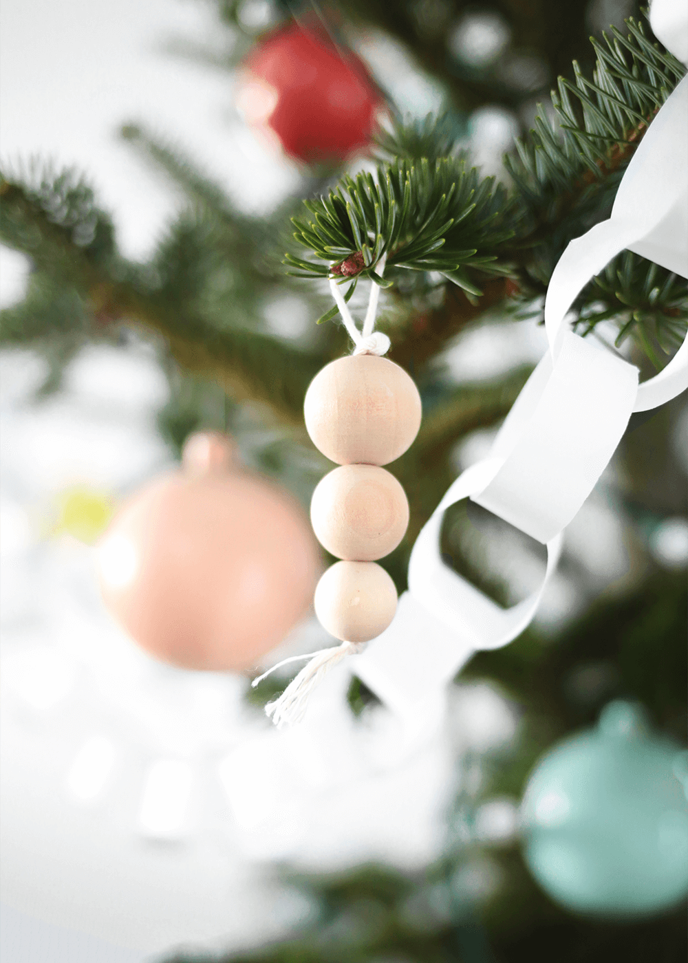 DIY Nordic Wooden Ornaments from The Faux Martha