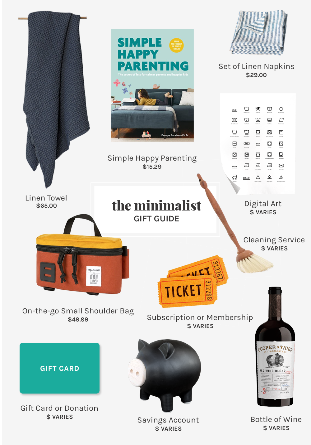 2019 Gift Guide for the minimalist