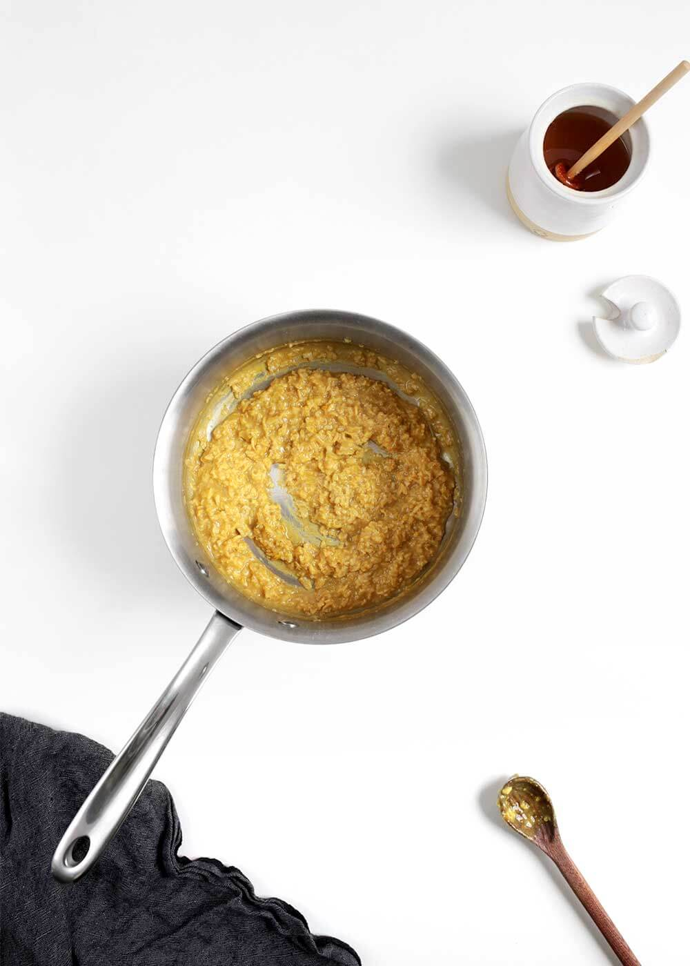 how to make Toasted Golden Oatmeal from The Faux Martha