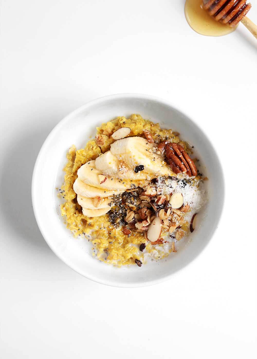 Toasted Golden Oatmeal from The Faux Martha