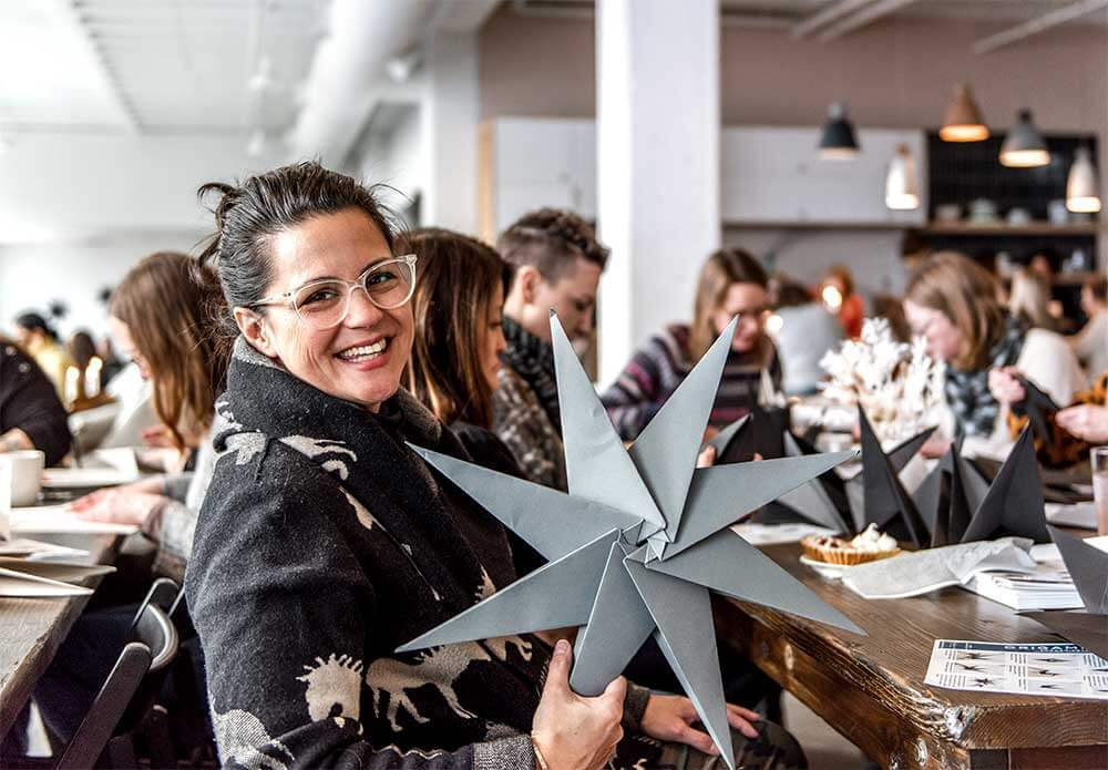 Nordic Origami Star