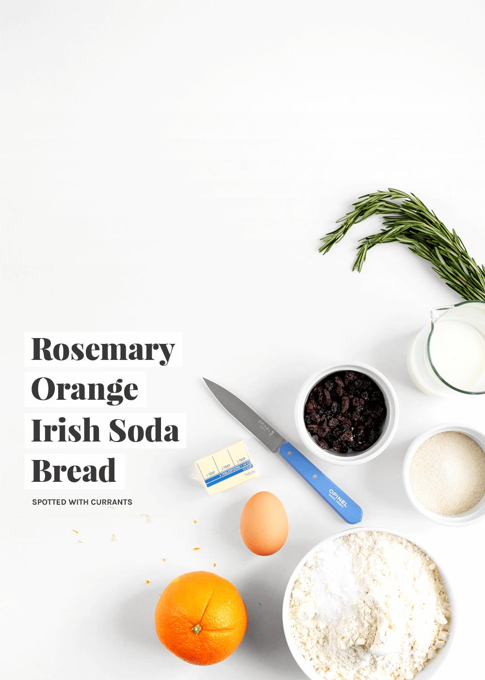 how to make Rosemary Orange Irish Soda Bread from The Faux Martha