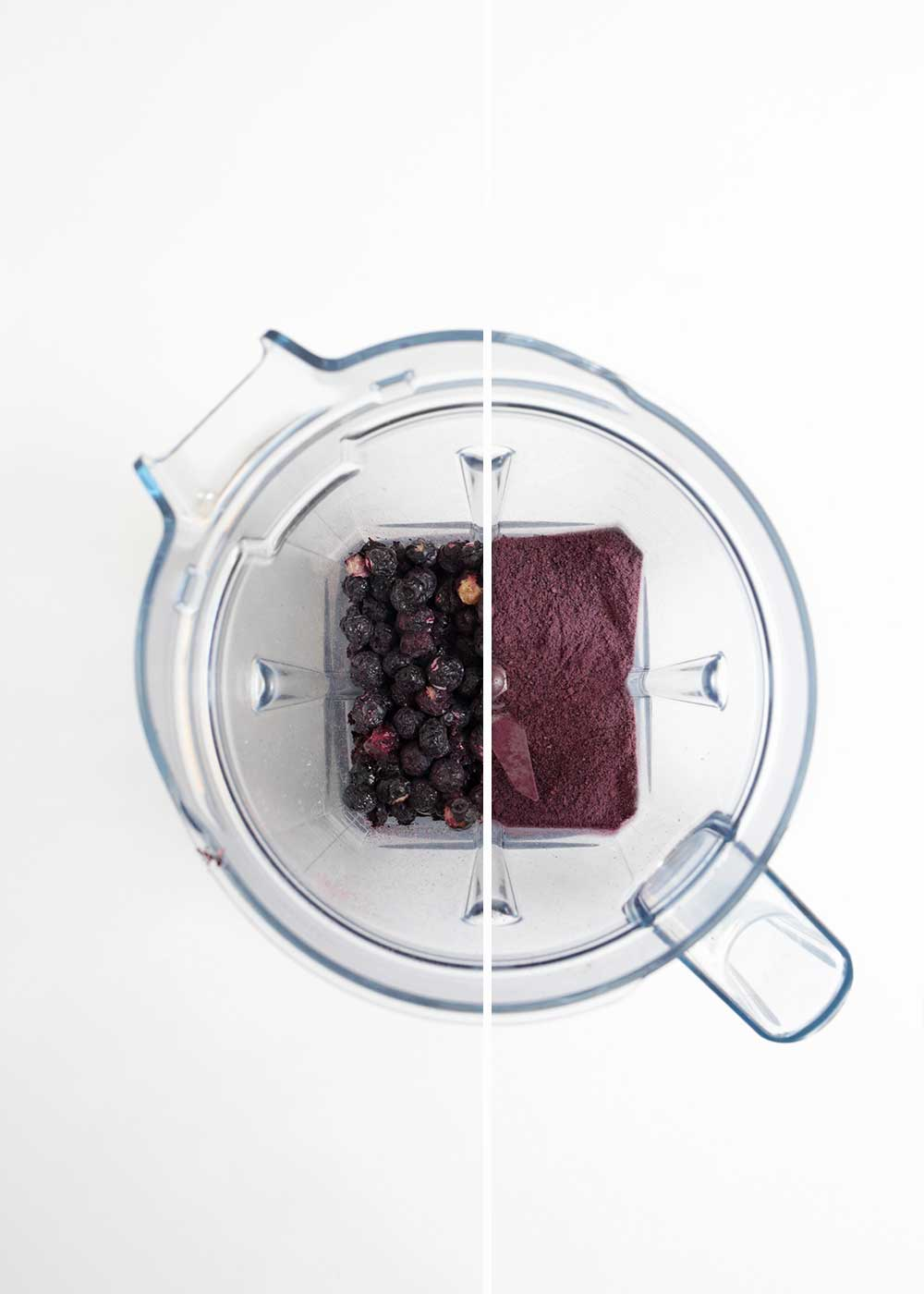 how to make blueberry powder from the faux martha
