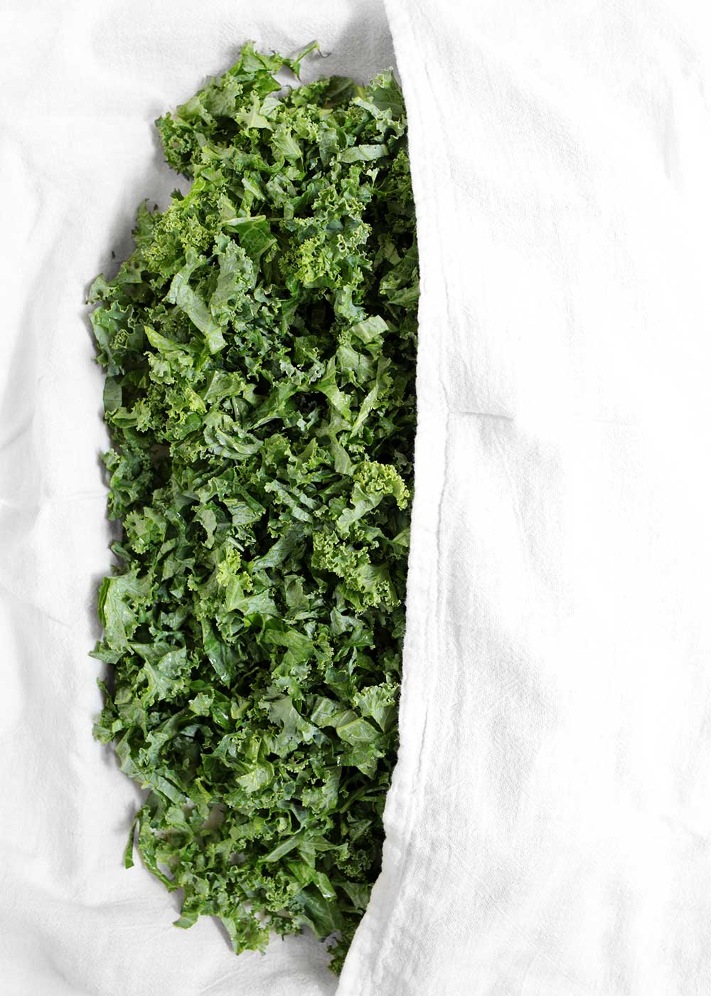 how to prep kale for the week from the faux martha