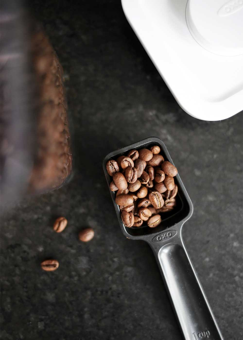 coffee beans from the faux martha