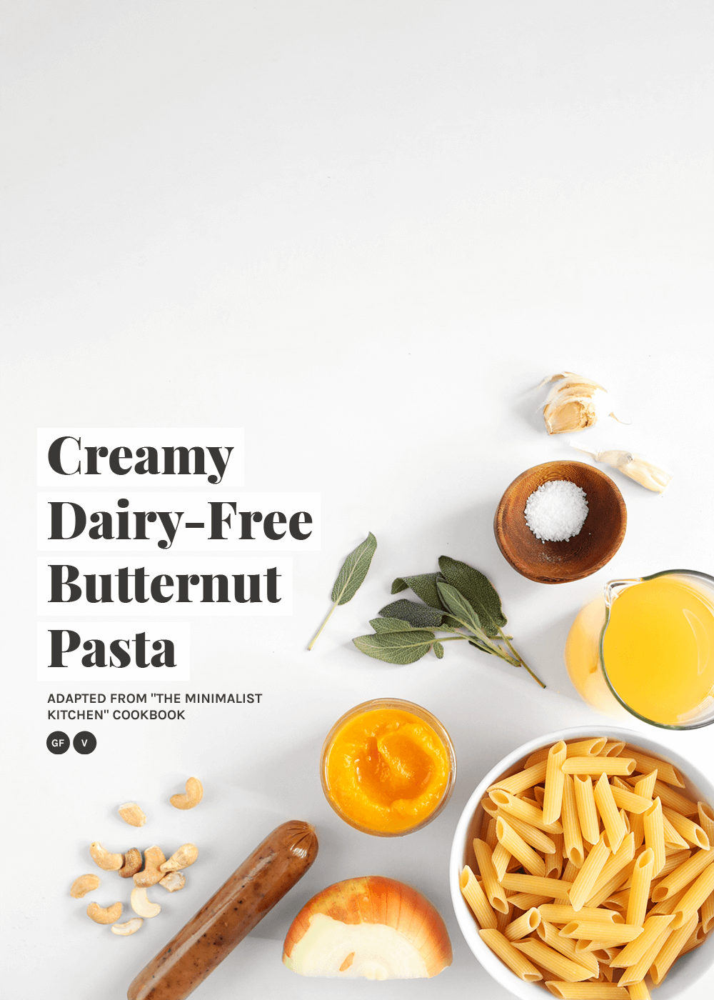 how to make Creamy Dairy-Free Butternut Pasta from The Faux Martha