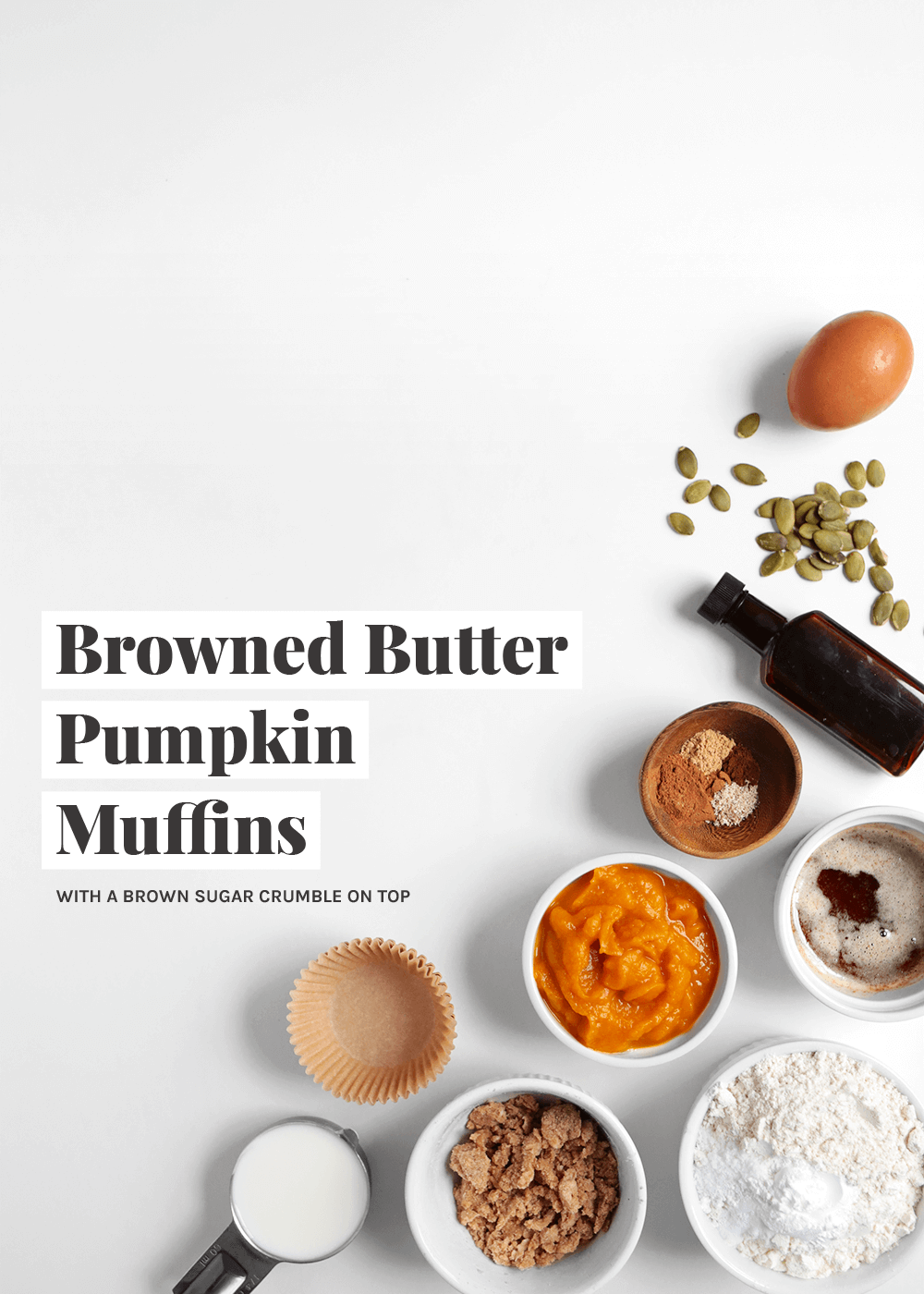 How to make Browned Butter Pumpkin Muffins from the Faux Martha