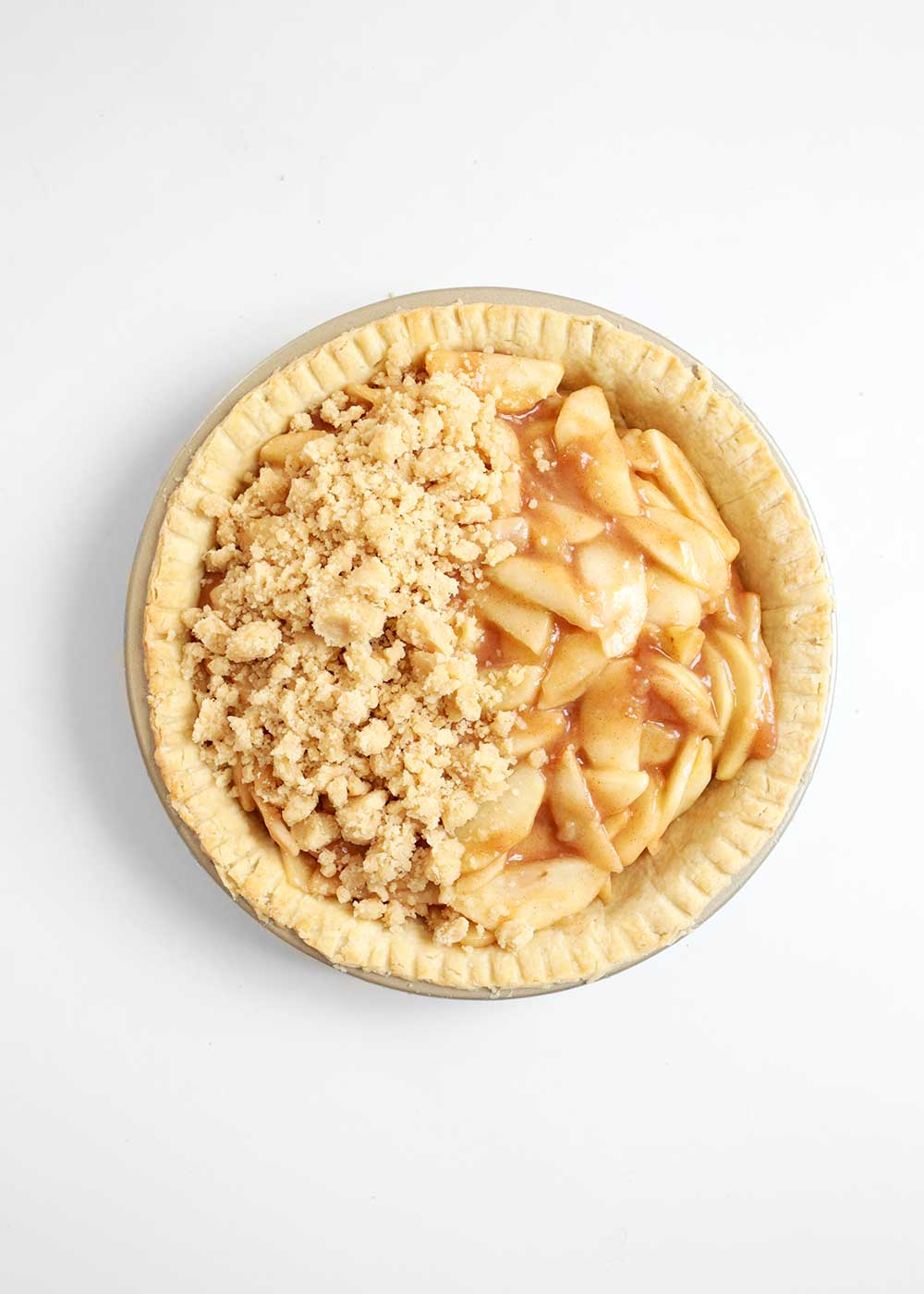 a doable and delicious apple pie from the faux martha