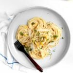 Lightened Up Pasta al Limone