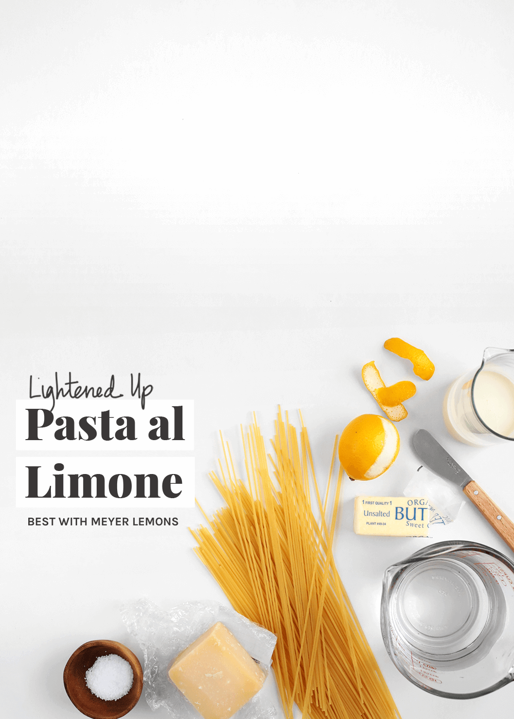 how to make lighted up pasta al limone recipe from the faux martha