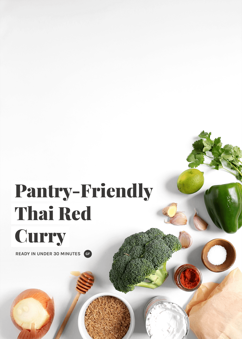 Pantry Friendly Thai Red Curry Recipe from The Faux Martha
