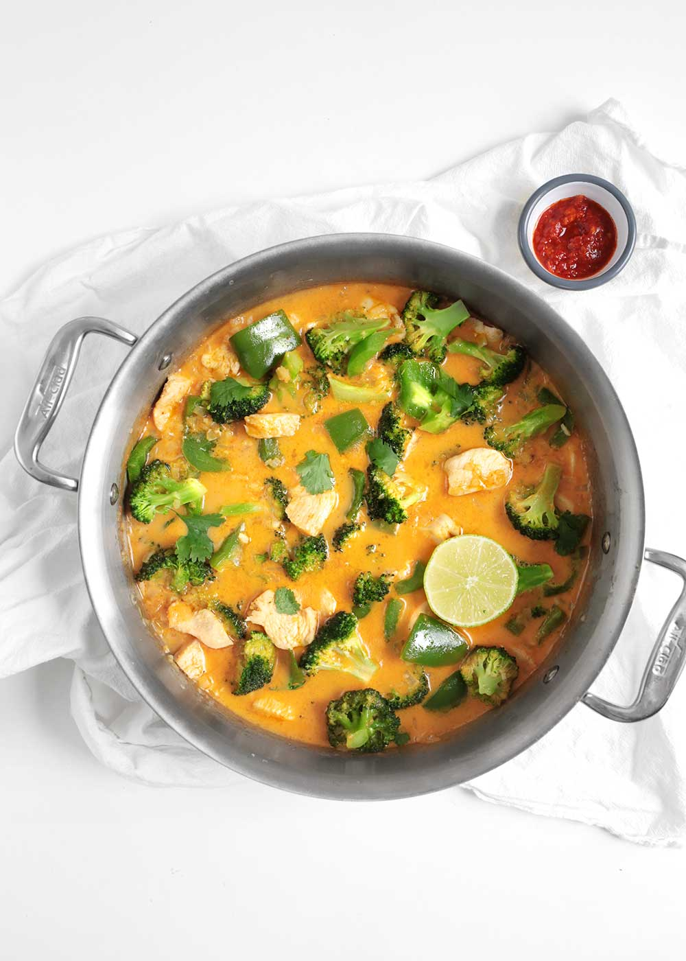 30 minute quick Thai Red Curry Recipe from The Faux Martha