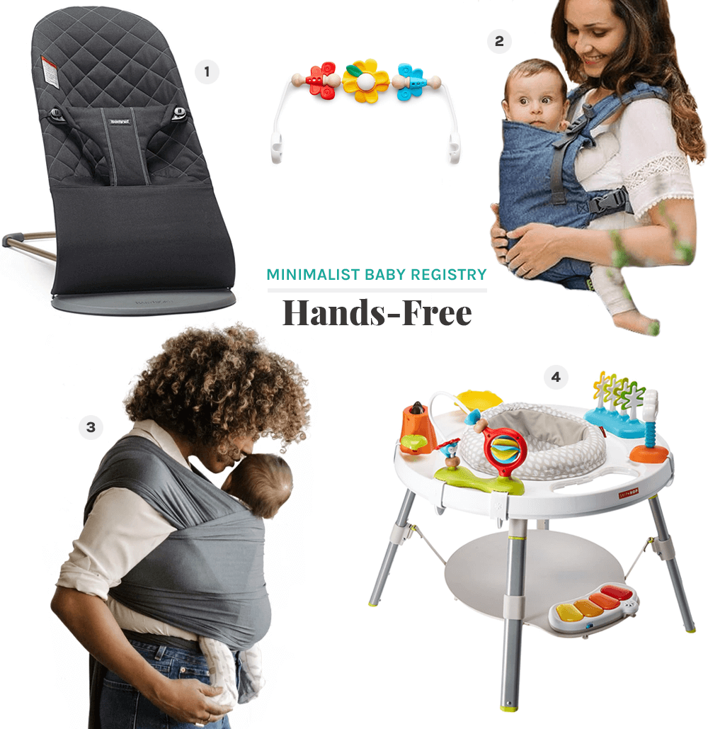 hands-free minimalist baby registry from the faux martha