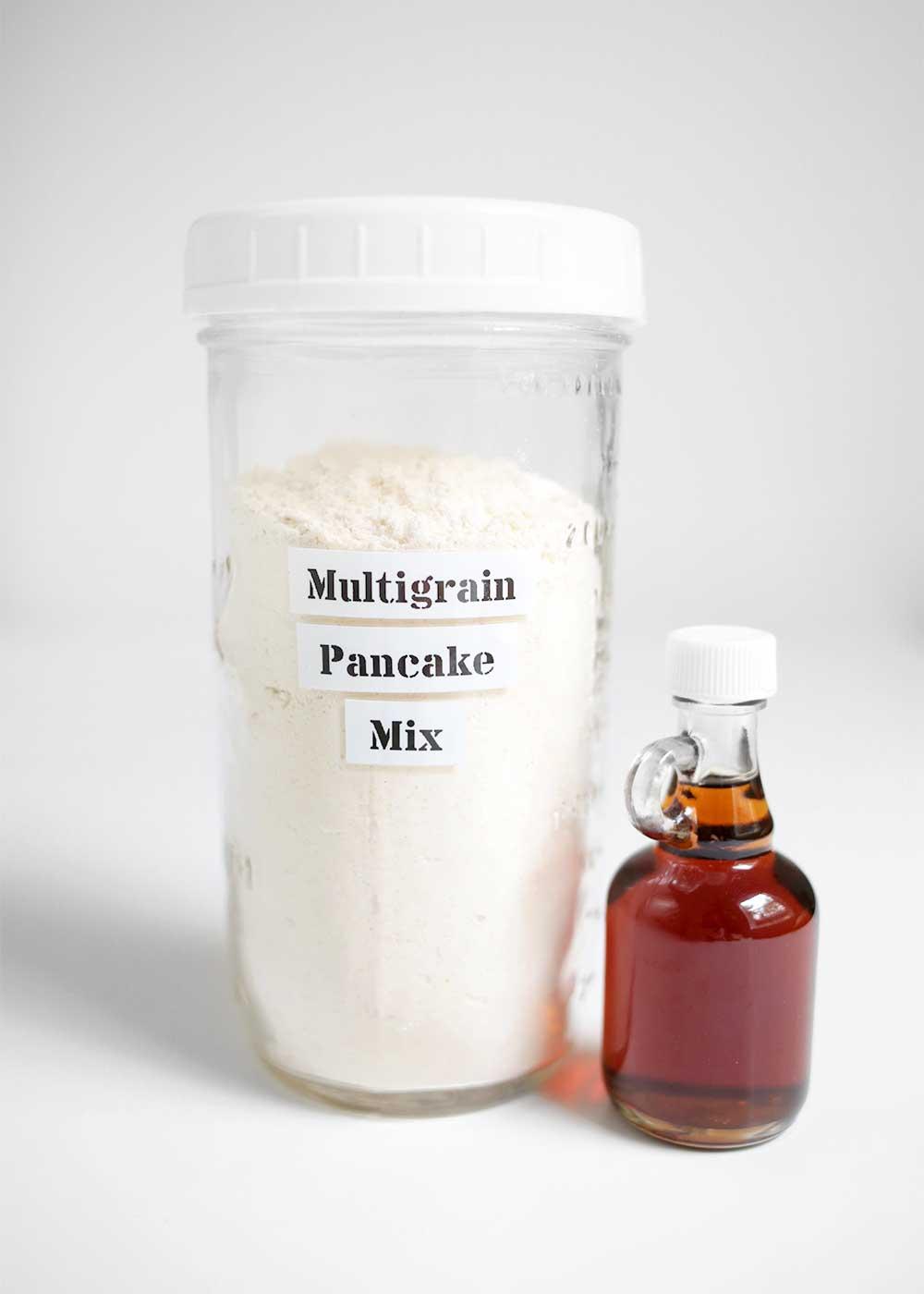 Multigrain Pancake Mix from the faux martha
