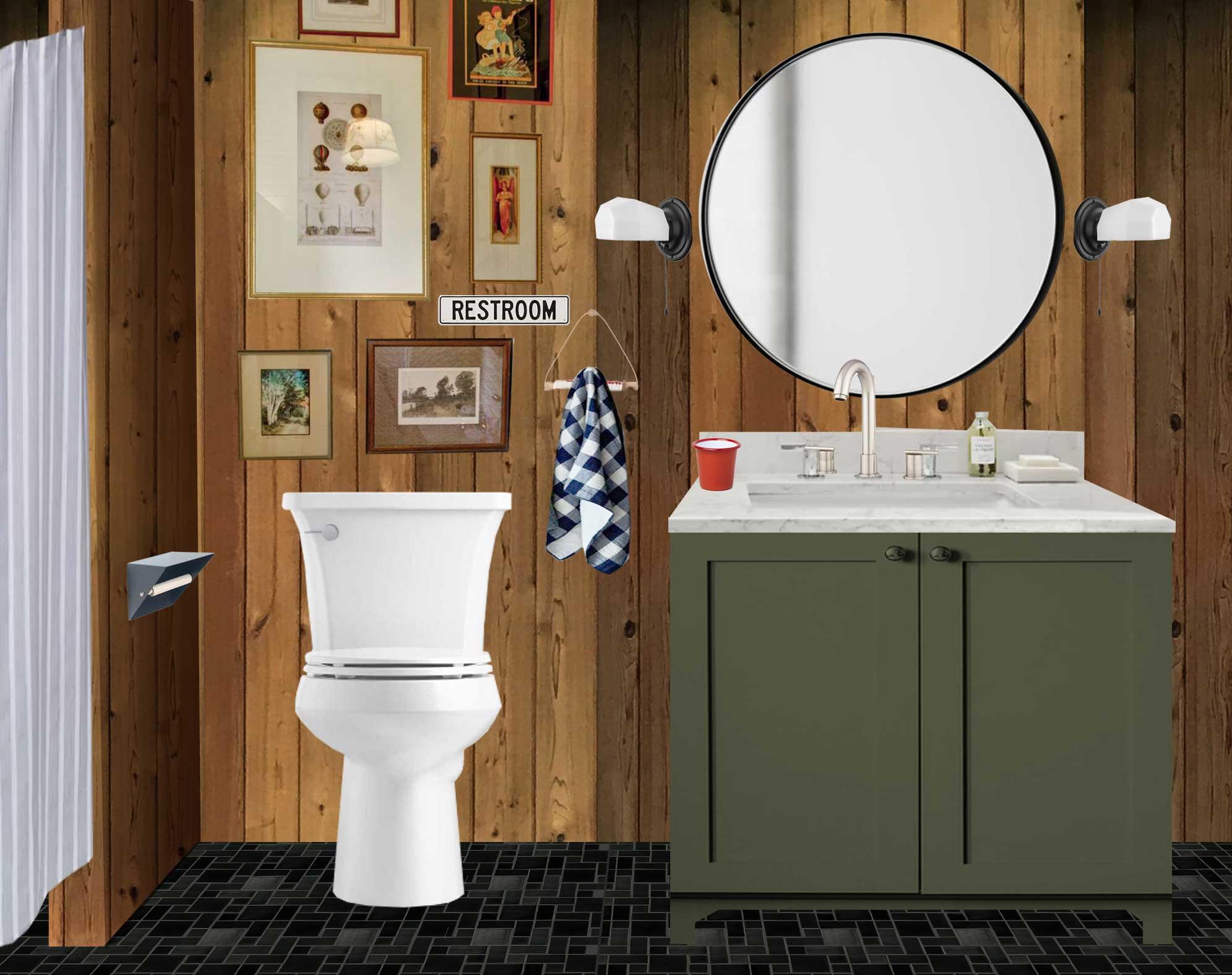 the minne stuga bathroom mood board