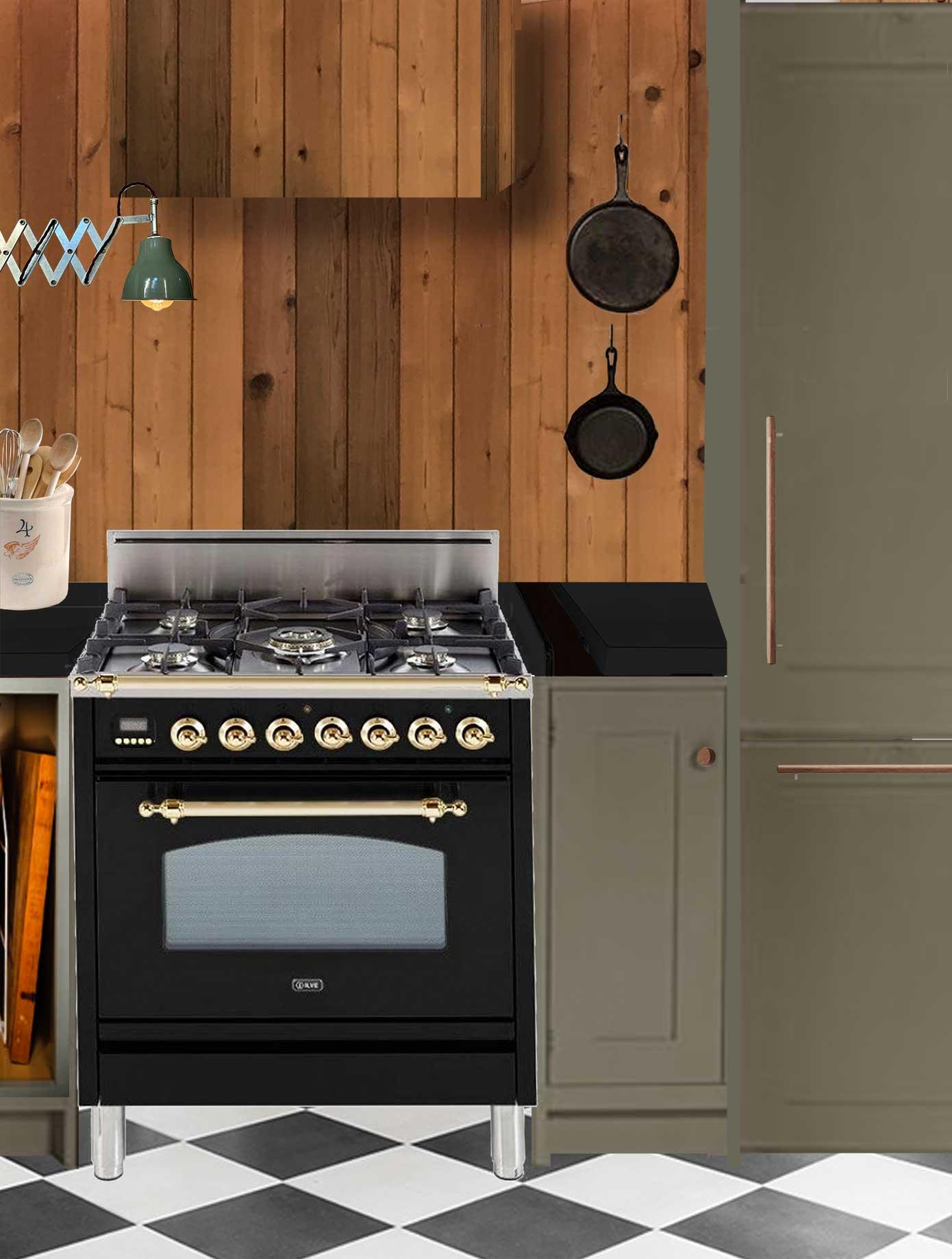 the minne stuga kitchen mood board